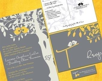 Wedding Invitation Sample Packet