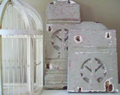 RESERVE FOR JANE Vintage Wooden Architectural Salvage Fragments