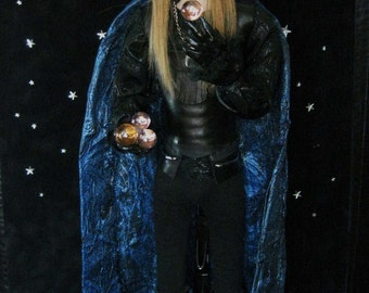 OOAK Rock and Roll David Bowie Jareth Labyrinth Art Doll