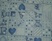 Baby Boy Machine Quilted Quilt