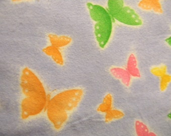 Butterfly Burp Cloths