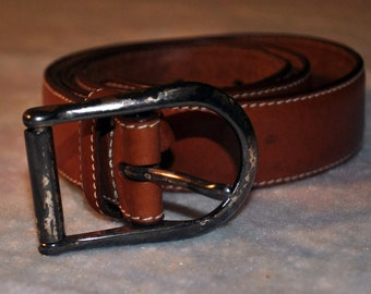 Vintage Leather Ann Taylor Belt
