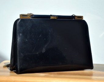 Vintage Marchioness Black Evening Bag