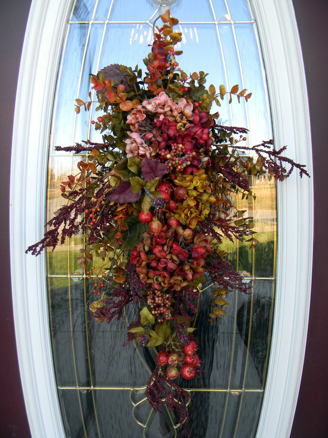 All Year Round Door Swag Decor Enchantment
