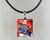 Barber Shop Scrabble Pendant