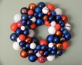 AUBURN TIGERS Ornament Wreath