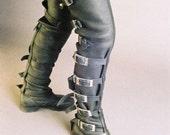 Thigh High Buckle Boots, Steam punk