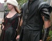 Warrior Tunic, Leather Armor, Steam punk