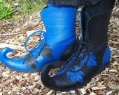 Curly Toe Leather Boot, Fairy, Steampunk