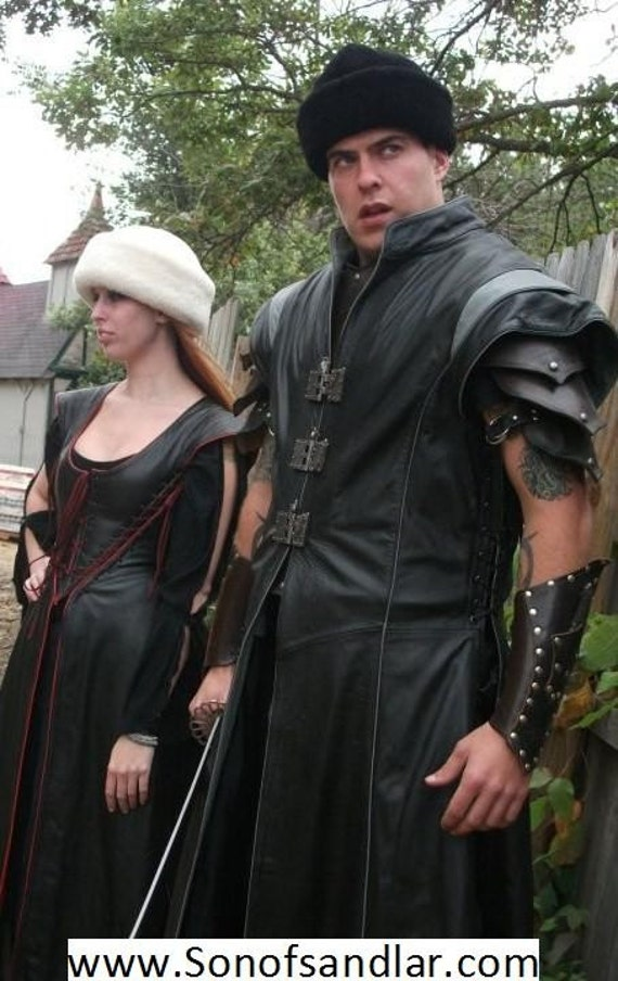 Warrior Tunic, Leather Armor, Steam punk
