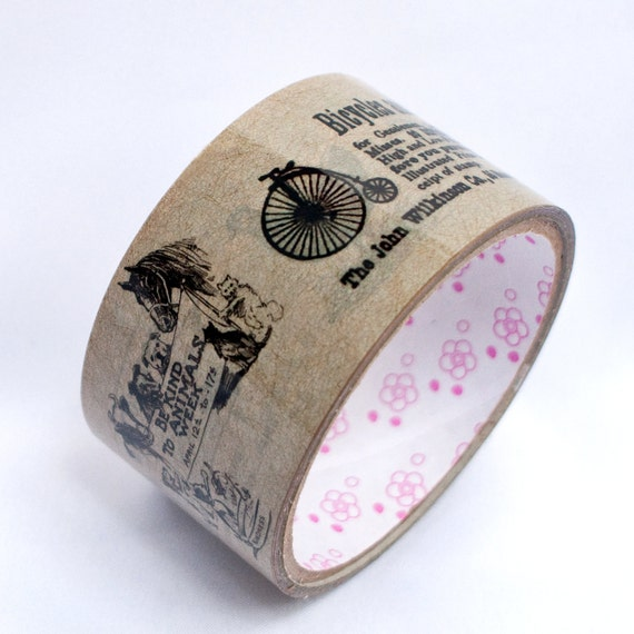 Wide Vintage Style Decorative Tape