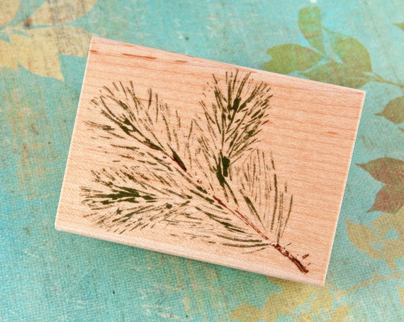 Real Pine - Wood Mounted Rubber Stamp by Hero Arts