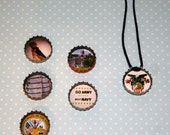 US Military Academy (West Point) Bottlecap Necklace