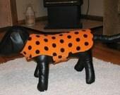 Halloween Fleece Dog Jacket