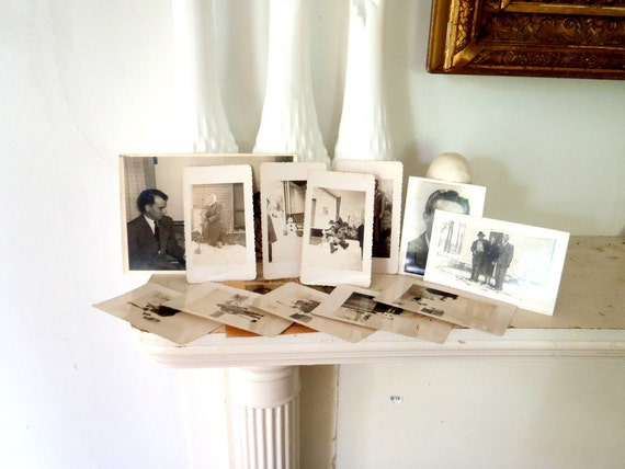 Antique Black and White Photograph Collection
