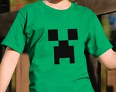 Creeper Minecraft Tee Shirt