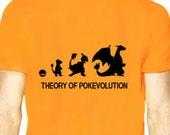 Theory of  Pokevolution Charmander Tee Shirt