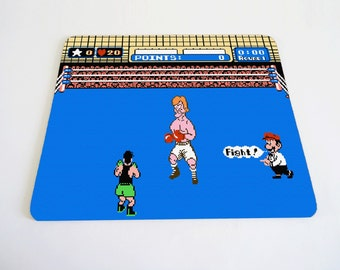 Punch-Out mousepad