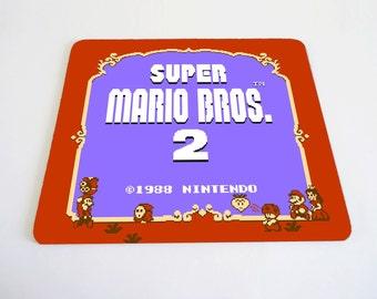 Mario 2 mousepad
