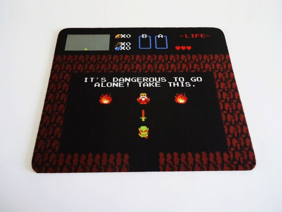 Free Shipping to North America Awesome It's Dangerous Zelda mousepad