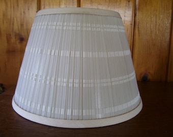 Lamp Shade White Fabric Electric Light Beautiful Art Decor Lighting Home Decor