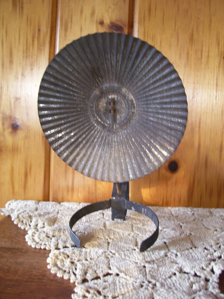 Antique Eagle Oil Lamp Tin Reflector Amp Wall By
