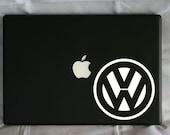 """Volkswagen """"VW"""" Bug Logo Vinyl Decal"""