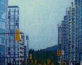 From Vancouver to the Mountains High Quality Art Print