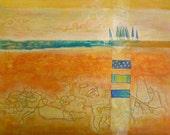 Week end Escapade at the Beach, High Quality Art Print