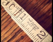 Vintage Metal Carpenter's Folding Ruler