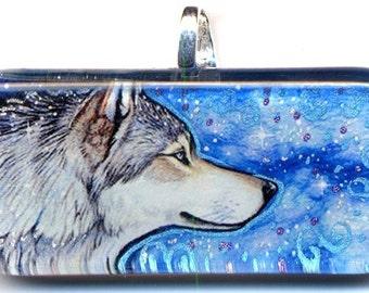 Stars Wolf Pendant