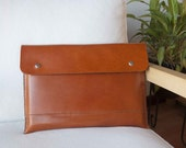13 inch MacBook Pro, MacBook Pro 13 sleeve, 13 MacBook case, MacBook 13 sleeve with pocket in brown leather