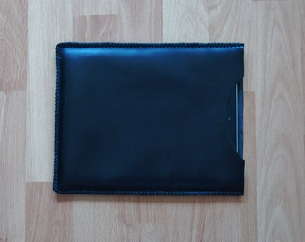 IPad retina case, IPad 3 case, IPad case, leather IPad case - Black leather