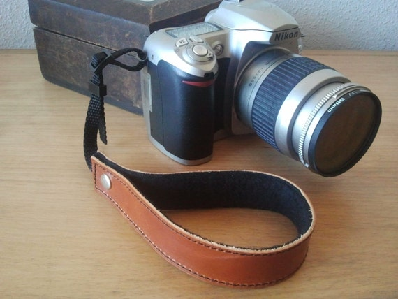 Camera Strap - Brown Leather