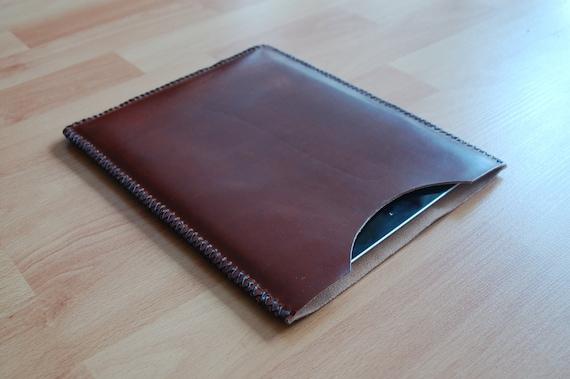 IPad case, IPad 3 case, IPad retina case, IPad sleeve, IPad retina sleeve, IPad cover - Dark Brown leather