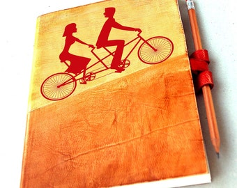 We  two are one on Bicycles
