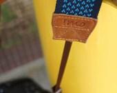 Little heart camera strap (Blue)