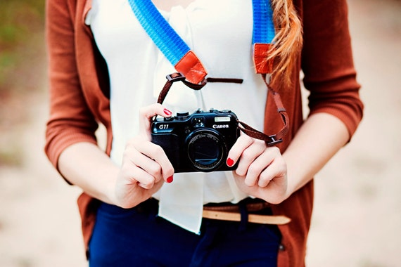 Discounted Smurf Camera Strap