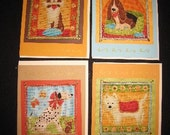 Whimsical Dog Greeting Cards