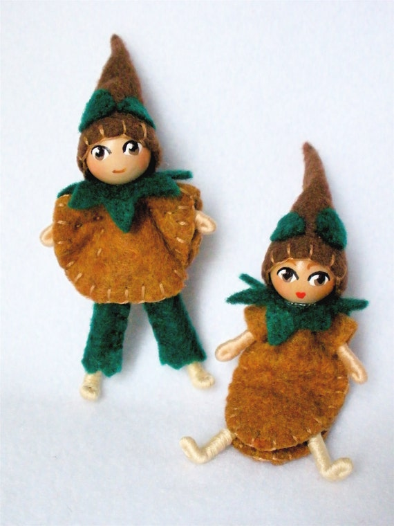 Bendy Doll Twins - CocoaBean Berry Buddies