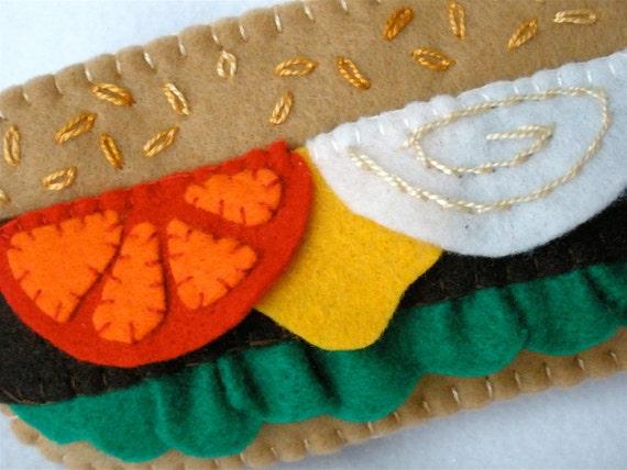 Cheeseburger Cell Phone Case