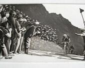 Tour de France : Original Limited Edition Etching