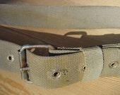 Very Unique  - Vintage Military Soldier Handmade Belt from Soviet Union, USSR ... a Fashionista Statement Piece Size S M L