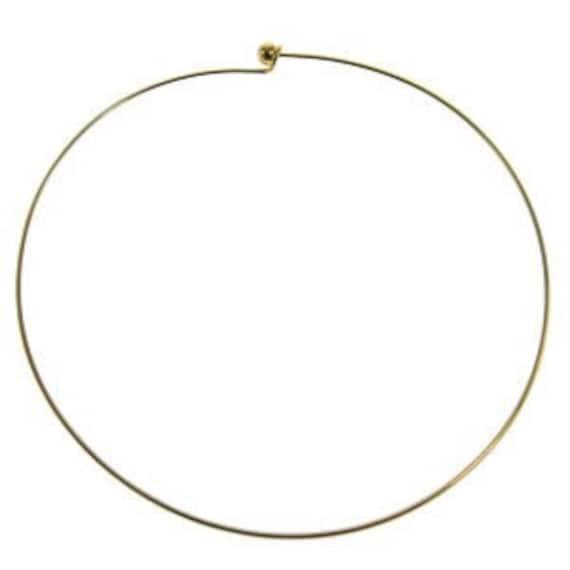 Gold Choker Wire