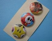 Nintendo Buttons
