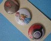 Poke'mon Buttons