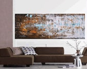 """Enormous 72""""xxl large abstract painting original  free shipping, from jolina anthony signet  express shipping"""