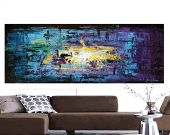 "Painting 72"" xxl original Painting Abstract Painting large Painting textured Painting from Jolina Anthony"