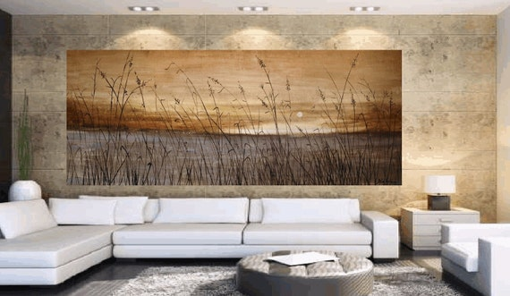 "original 72"" large painting landscape abstract painting from listed artist jolina anthony"