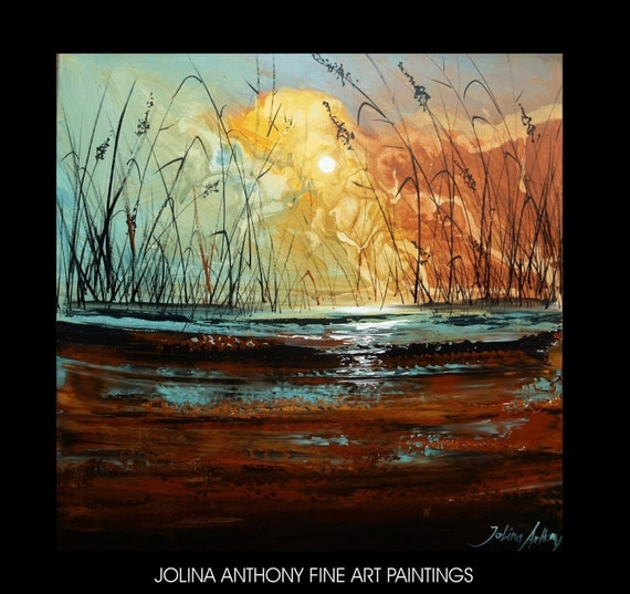original abstract jolinas   see unique series paintings  fantastic mix of colors more paintings in my shop I look forward to your visit